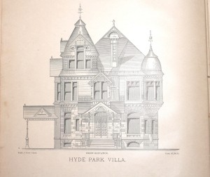 Elevation of Victorian home from ABH