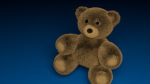 Teddy Bear made with Blender
